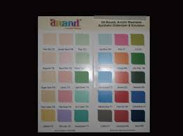 shade cards for paints at rs 6 piece