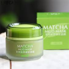 laikou matcha mud mask in