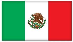Amazon Com Mexico Mexican Flag Car Bumper Sticker Decal 5 X 3 Automotive