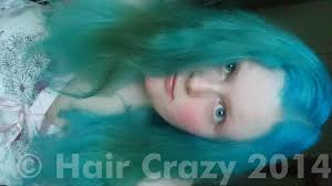 get rid of green tint in my blue hair