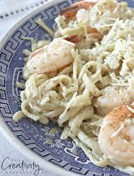 Creamy Seafood Alfredo Linguini ...