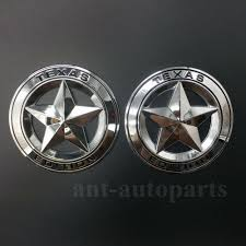2pcs Metal Chrome Texas Edition Star Flag Car Trunk Emblem Badge Decal Sticker Buy At The Price Of 11 92 In Aliexpress Com Imall Com