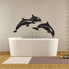 Dolphin Fish Vinyl Wall Art Decal