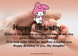 birthday wishes for daughter greetings com
