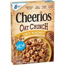 cheerios oat crunch oats n honey
