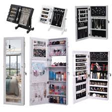 bed bath beyond mirror jewelry armoire