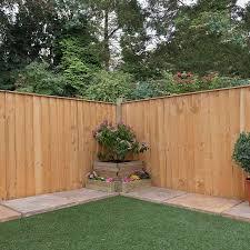 feather edge garden fence panels
