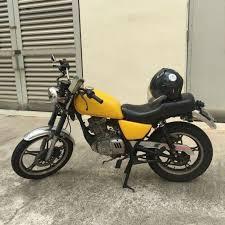 suzuki gn125 cafe racer motorbikes