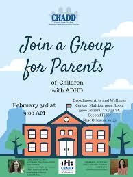 Don't Forget: February Parents Meet-Up — Mind Coach Nola