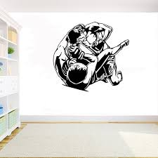Mma Extreme Fight Sport Martial Arts Wall Decal Home Decor Removeable Vinyl Diy Mural Ufc Fighters Wrestling Wall Sticker G950 Wall Stickers Aliexpress