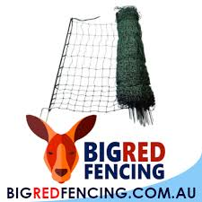 Nemtek 50 Metre Roll Of Electric Fence Netting For Poultry Big Red Fencing