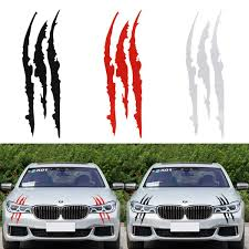 Car Truck Graphics Decals Auto Parts And Vehicles Mustang Rally Rips Scar Scratch Claw Decal Set Gt Fastback 2017 2016 2015 2014 Megeriancarpet Am