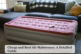 the best rated air mattress reviews