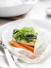 en Papillote with Carrot Top Pesto ...