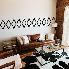 Printique Vinyl Wall Art Decal Geometric Tribal Pattern 22 5 X 74 Modern Urban Tre