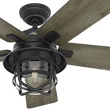 weathered zinc outdoor ceiling fan