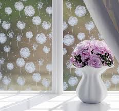 New 45 100cm Waterproof Glass Window Bathroom Frosted Wall Sticker Home Decor Cartoon Stars Art Mural Pvc Window Film Wall Decal Wish