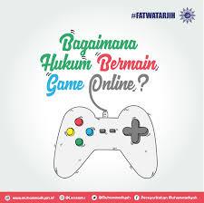 bagaimana hukum bermain game online berita muhammadiyah