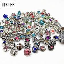 18mm snap on charms fits