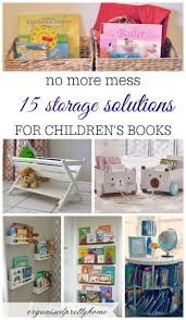 15 Awesome Kids Book Storage Ideas Organised Pretty Home Kids Book Storage Kids Storage Nursery Book Storage