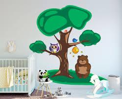 Wall Decal Sticker Vinyl Owl Bird Funny Cartoon Nursery Room New Y Home Garden Children S Bedroom Child Decor Decals Stickers Vinyl Art