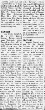 Myrtle Campbell Obit - Newspapers.com