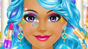 magical fantasy princess makeup hair