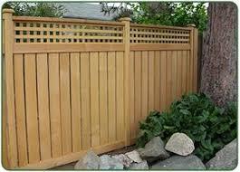 Lattice Top Jpg 337 242 Pixels Fence With Lattice Top Garden Fencing Garden Fence