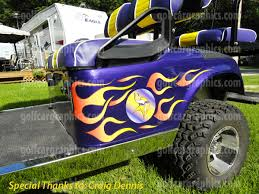 Golf Cart Decals Wraps Graphics More Golf Car Accessories For All Makes Models Powersportswraps Com