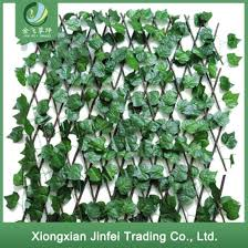 China Artificial Green Vine Garden Fence Uv Protected Privacy Screen Outdoor Indoor Backyard Decor China Artificial Plant And Fence Price
