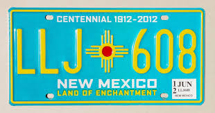 100 Years Of New Mexico License Plates Albuquerque Journal