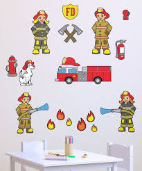 Vincent Theo Firemen Wall Decal Set Zulily