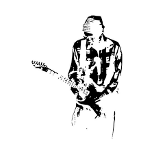 John Frusciante Red Hot Chilli Peppers T Vinyl Decal Sticker