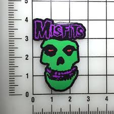 Misfits Neon 4 Tall Color Vinyl Decal Sticker Bogo For Sale Online