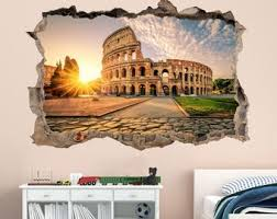Italy Wall Decal Etsy
