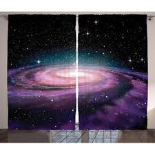 Kids Outer Space Curtains Wayfair