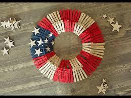 clothespin wreath tutorial