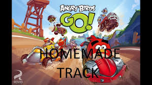 angry birds go track real life - YouTube