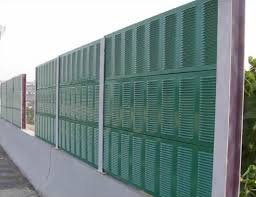 Sound Barrier Highway Soundproof Wall Traffic Noise Barrier