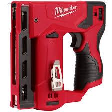 Milwaukee M12 3 8 In Cordless Crown Stapler Tool Only By Milwaukee At Fleet Farm