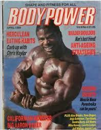BodyPower Bodybuilding Muscle British Magazine/AARON BAKER 4-89 ...