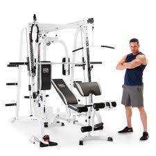 Marcy Diamond Smith Cage Workout Machine Total Body Training Home Gym  System - Walmart.com - Walmart.com