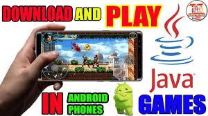 java games in any android phone