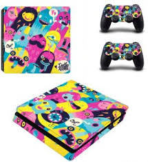 Lienke Raben Attractive Monsters Playstation 4 Slim Vinyl Skin Sticker Decal For Ps4 Slim Buy Online Skins Decals At Best Prices In Egypt Souq Com