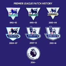 Evolution of the Premier League patch – THEFOOTBALLDUGOUT