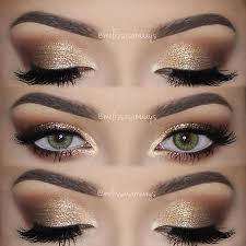 prom eye makeup gold saubhaya makeup