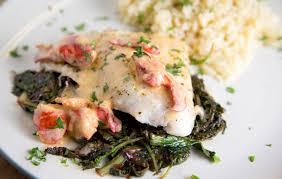 Red Snapper with a Lobster Cream Sauce ...