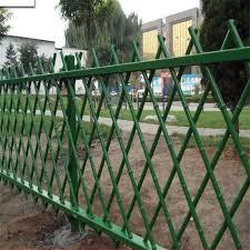China 1 2m Antique Green Artificial Bamboo Garden Fence Design China Garden Fence Bamboo Fence
