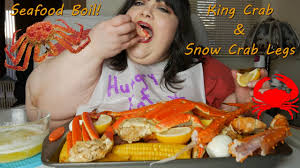 Seafood Boil With King Crab & Snow Crab ...