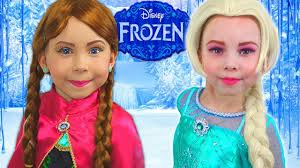frozen elsa and anna how to turn into
